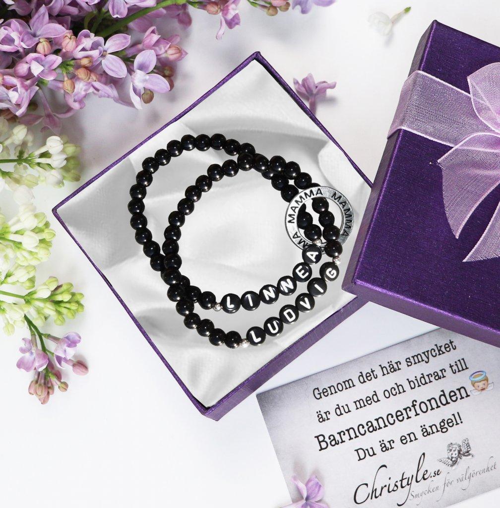 armband med namn egen design namnarmband present Present till mamma mors dag  ... 3960c059e3605